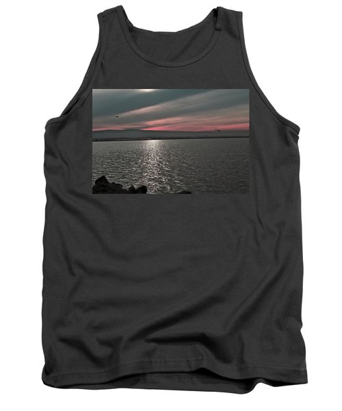 Sunset On The Marsh Tank Top