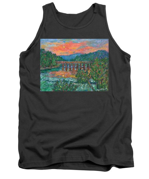 Sunset On The New River Tank Top