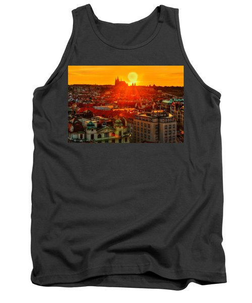Sunset Over Prague Tank Top