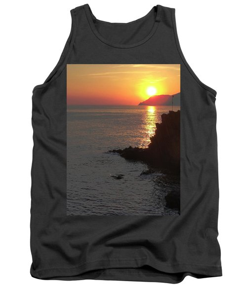 Tank Top featuring the photograph Sunset Reflection by Natalie Ortiz