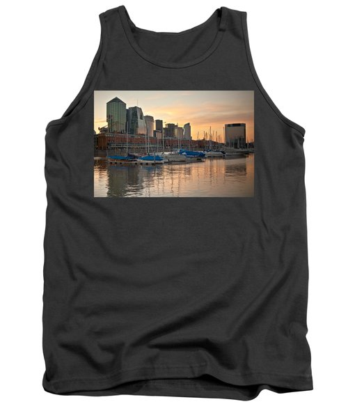 Tank Top featuring the photograph Buenos Aires Sunset by Silvia Bruno