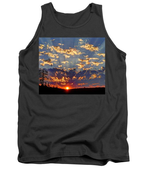 Sunset Spectacle Tank Top by Peter Mooyman