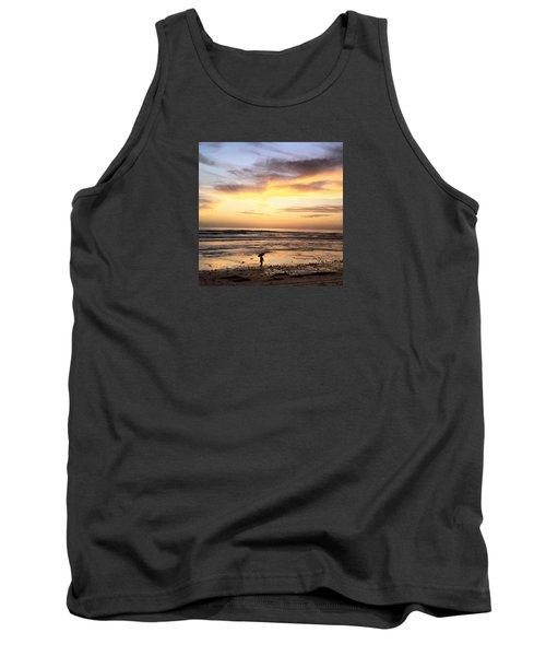 Sunset Surfer Tank Top