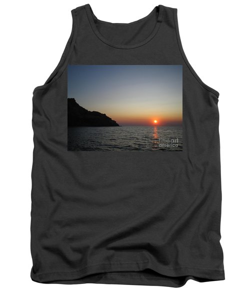 Tank Top featuring the photograph Sunset by Vicki Spindler