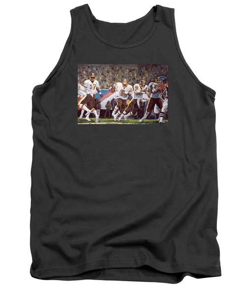 Superbowl Xii Tank Top by Donna Tucker