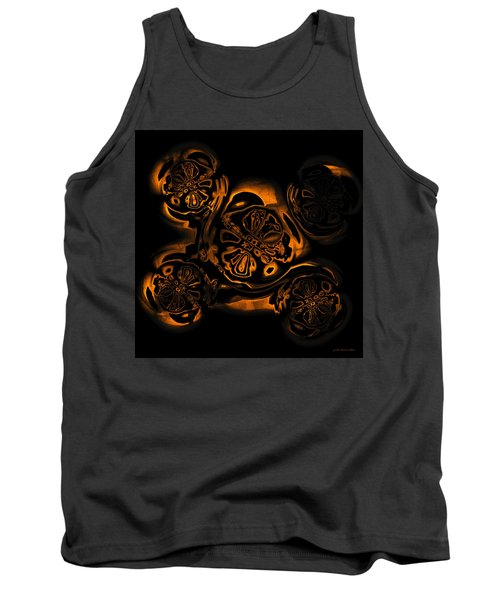 Tank Top featuring the digital art Suranan Artifact by Judi Suni Hall