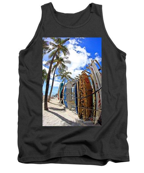 Surf And Sun Waikiki Tank Top