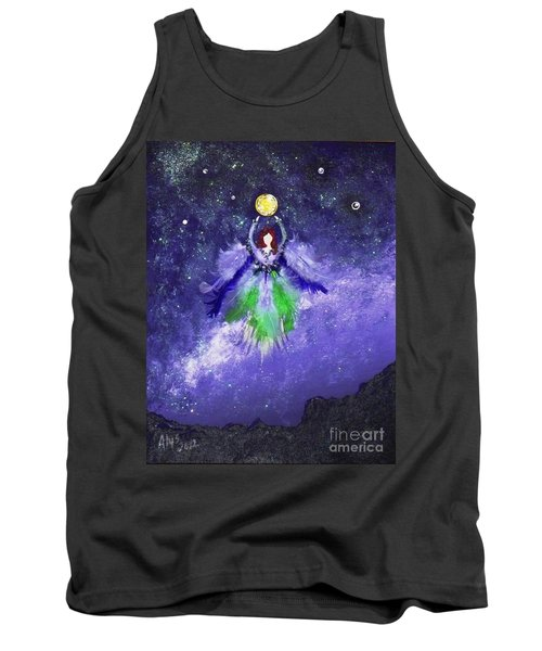 Tank Top featuring the painting Survivor by Alys Caviness-Gober