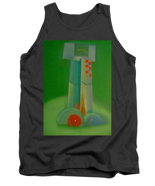 Tank Top featuring the painting Survivors by Charles Stuart
