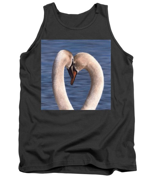 Swans Painting Tank Top