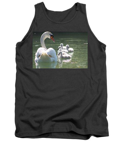 Swans  Tank Top