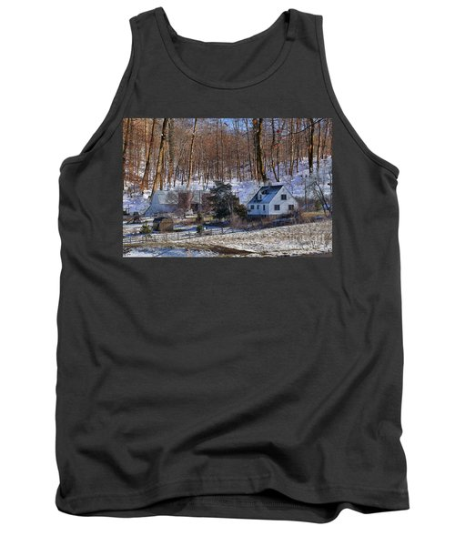 Sweet Country Charm Tank Top by Liane Wright