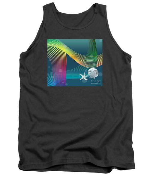 Tank Top featuring the digital art Sweet Dreams2 Abstract by Megan Dirsa-DuBois