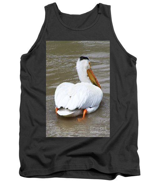 Tank Top featuring the photograph Swimming Away by Alyce Taylor