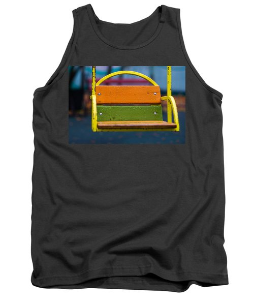 Swinging Rain - Featured 3 Tank Top by Alexander Senin