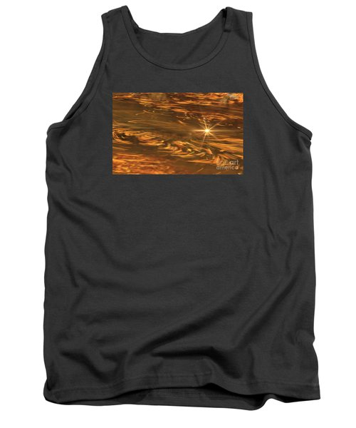 Tank Top featuring the photograph Swirling Autumn Leaves by Geraldine DeBoer