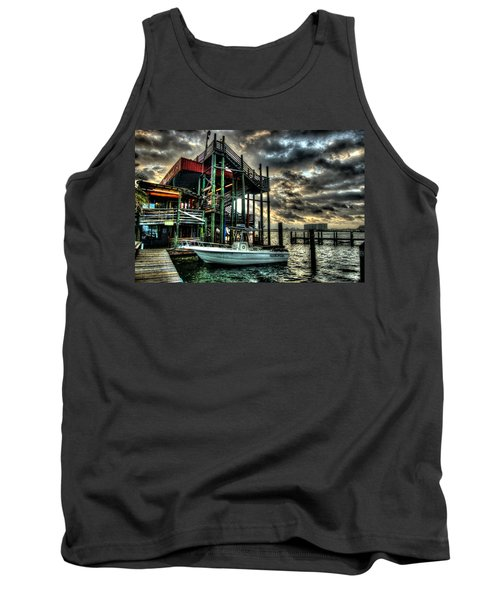 Tank Top featuring the digital art Tacky Jack Morning by Michael Thomas