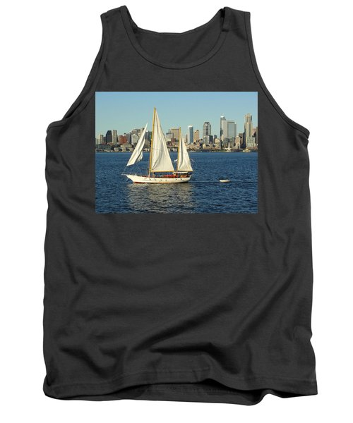 Tank Top featuring the photograph Mind If I Tag Along by Natalie Ortiz
