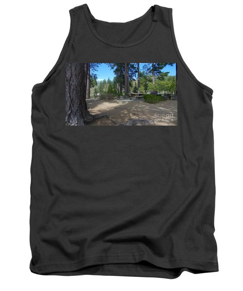 Tank Top featuring the photograph Tahoe's Summer Invitation by Bobbee Rickard