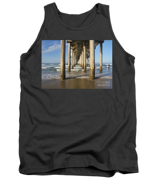 Tank Top featuring the photograph Take A Break by Tammy Espino