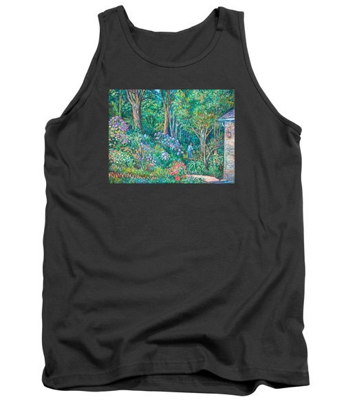 Tank Top featuring the painting Taking A Break by Kendall Kessler