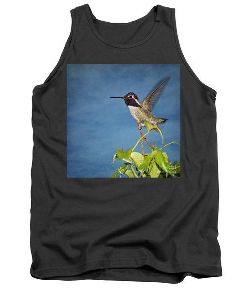 Tank Top featuring the photograph Taking Flight by Peggy Hughes