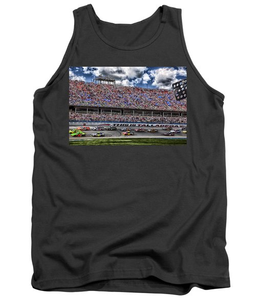 Talladega Superspeedway In Alabama Tank Top