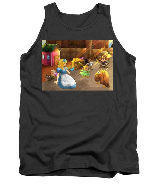 Tammy And Friends In The Backyard Tank Top