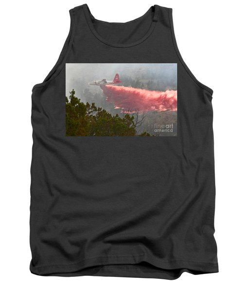 Tanker 07 On Whoopup Fire Tank Top