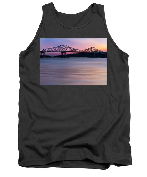 Tappan Zee Bridge Sunset Tank Top