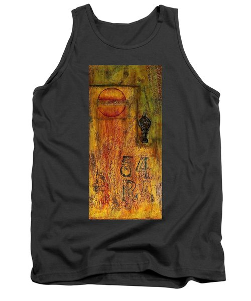 Tattered Wall  Tank Top