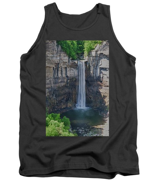 Taughannock Falls  0453 Tank Top by Guy Whiteley