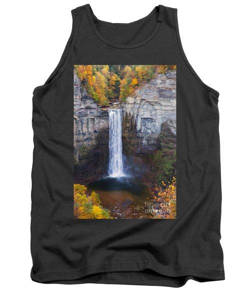 Taughannock Falls In Autumn Tank Top
