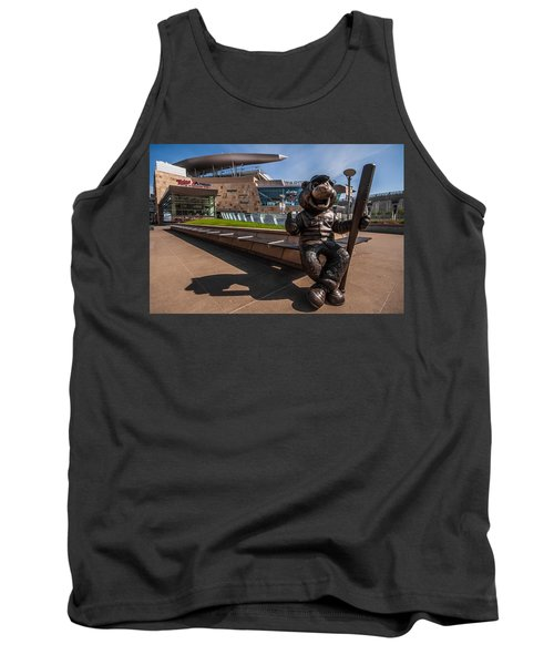 T.c. Statue And Target Field Tank Top