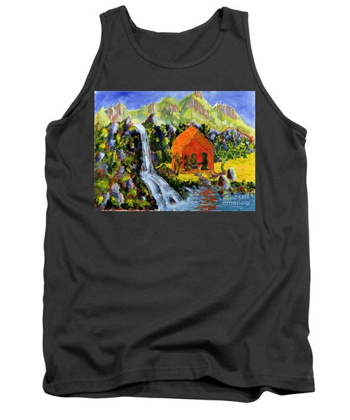 Tea Ceremony Tank Top