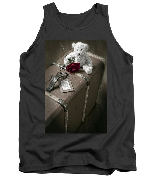Teddy Wants To Travel Tank Top