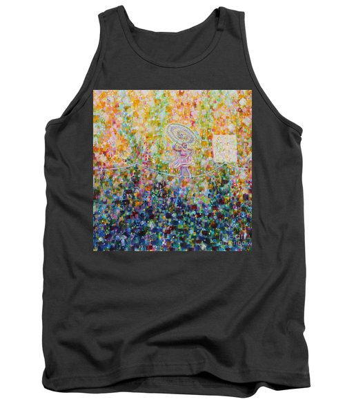 Temple Dance-tightrope  Tank Top