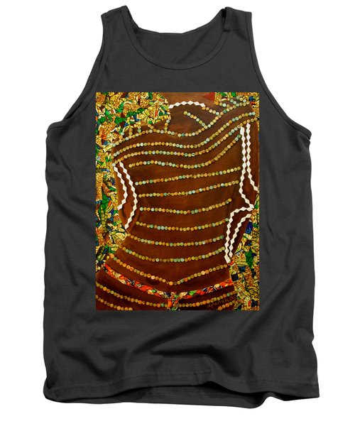 Tank Top featuring the tapestry - textile Temple Of The Goddess Eye Vol 2 by Apanaki Temitayo M