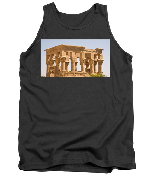 Temple Out Building Tank Top
