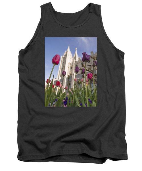 Temple Tulips Tank Top