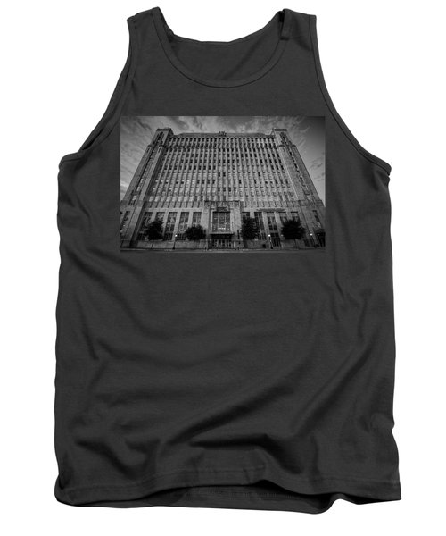 Tank Top featuring the photograph Texas And Pacific Lofts by Joan Carroll