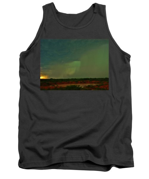 Tank Top featuring the photograph Texas Microburst by Ed Sweeney