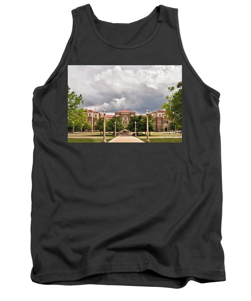 Tank Top featuring the photograph School Of Education by Mae Wertz