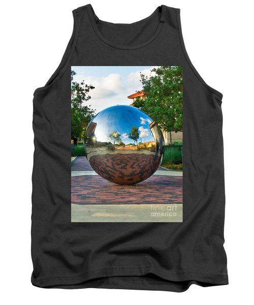 Tank Top featuring the photograph Tech World by Mae Wertz