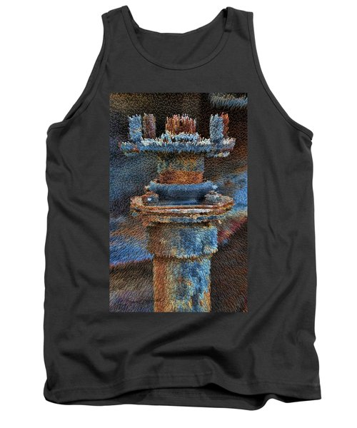 Texturized Pipe Tank Top