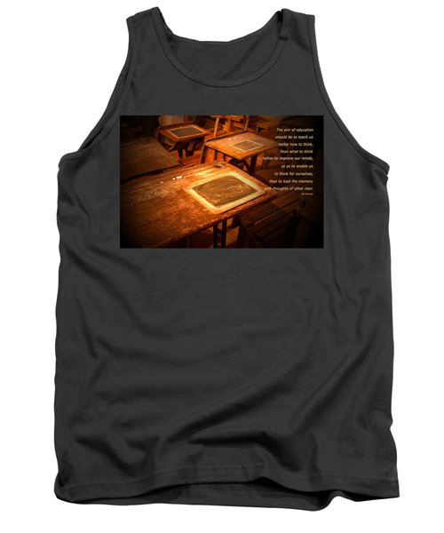 The Aim Of Education Tank Top