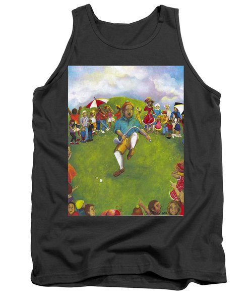 The Angry Golfer  Tank Top
