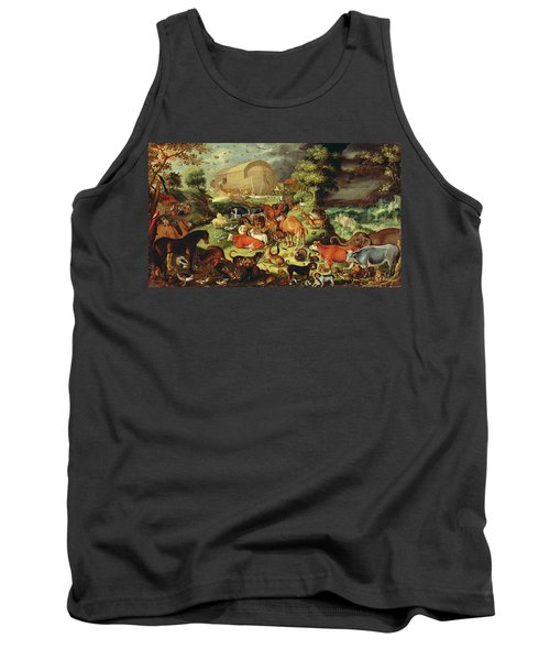 The Animals Entering The Ark Tank Top by Jacob II Savery
