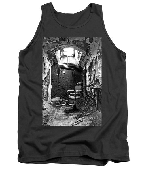 The Barber Chair - Bw Tank Top