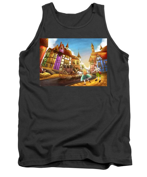 The Bavarian Village Tank Top by Reynold Jay
